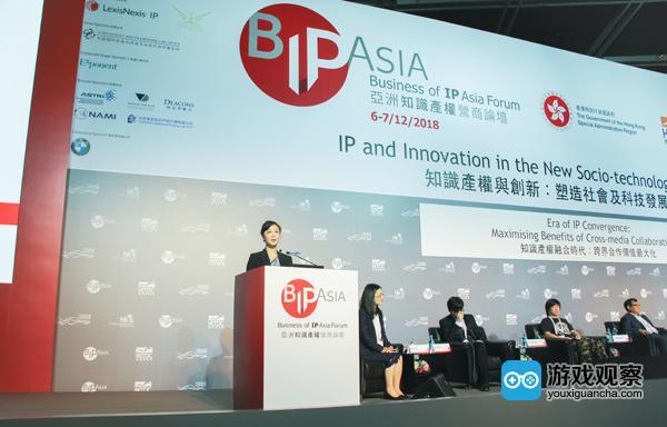 谢斐在中国日报亚洲领袖圆桌论坛发表演讲