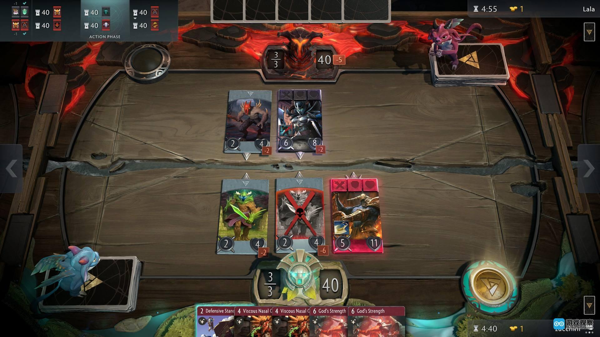 Valve 开发发行的卡牌游戏 Artifact