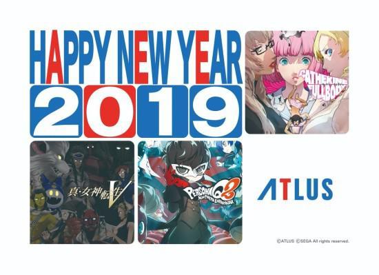 各大游戏厂商携旗下游戏庆祝2019年的到来