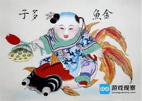 """""""年画重回春节""""游戏现实双发力 引领玩家感受中国传统文化"""