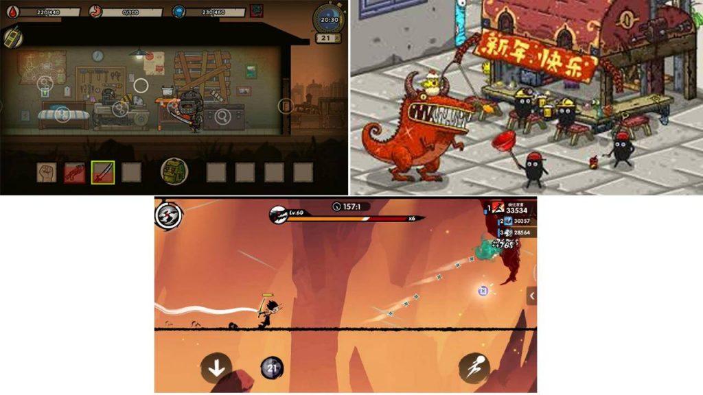 入围最受玩家喜爱游戏的几款独立游戏
