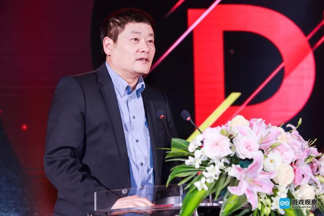 移动游戏企业家联盟(MGEA)秘书长 ChinaJoy组委会秘书长 上海汉威信恒展览有限公司董事长 韩志海先生致辞