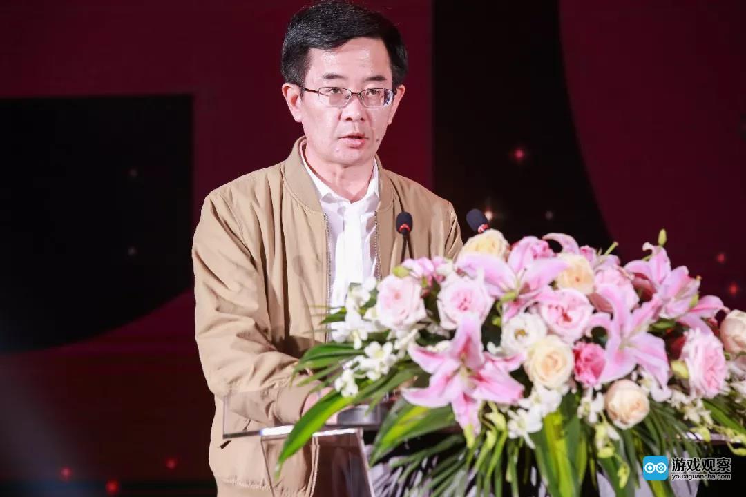 中宣部出版局网络出版处处长 张怀海先生