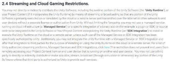 Unity更改用户协议引发争议 Improbable发文质疑