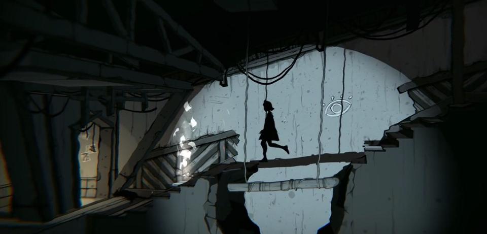 通过现实与影子交互来跨越障碍很有趣的玩法