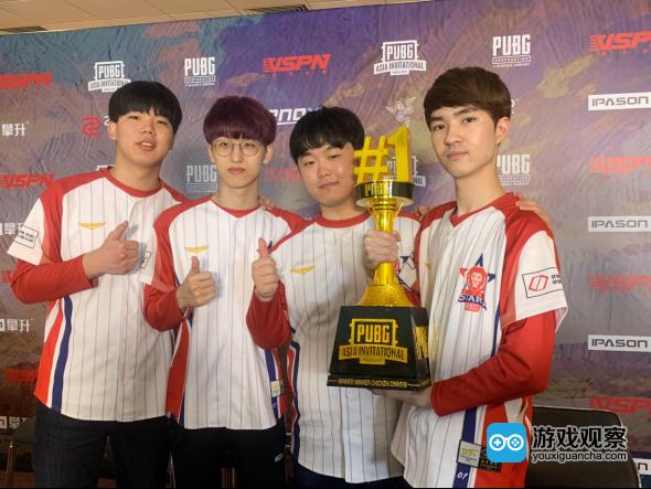 Actoz战队夺得2019《绝地求生》亚洲邀请赛冠军
