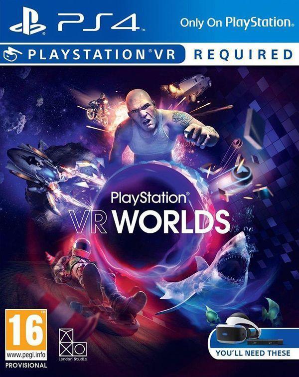 PlayStation VR Worlds混合了很多类型的VR游戏,也是PS VR游戏目前综合设计最好的游戏