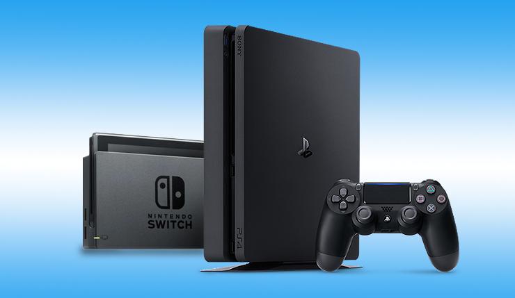 PS4险胜Switch 成为2018年全球最畅销游戏机