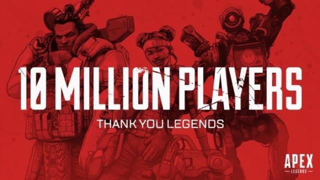 """又一款""""吃鸡""""火了 《Apex英雄》玩家数三天突破1000万"""