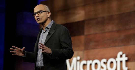 微软CEO抛售近27万公司股票 套现2840万美元