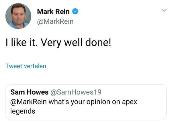 Epic副总裁称赞《APEX 英雄》:做得太好了