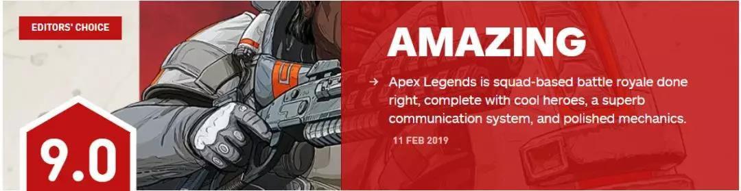 """IGN评价《Apex英雄》有""""超绝的交流系统"""""""